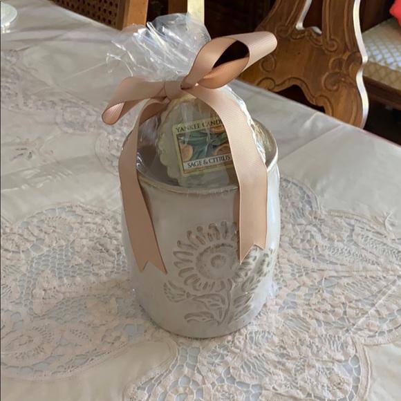Yankee Candle Tart Warmer Gift Set NEW